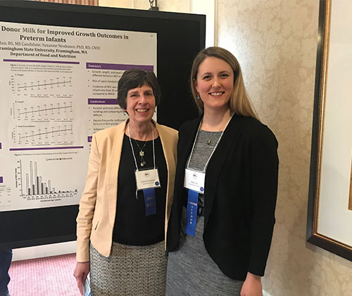 FSU Student and Faculty Member Win Major Awards from Mass. Academy of Nutrition and Dietetics