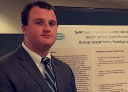 FSU Biology student Joe Wilder