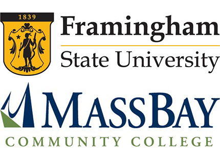 Framingham State university and Mass Bay Image