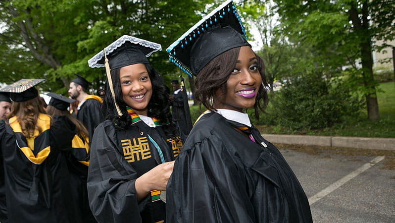 Framingham State University Students Graduating