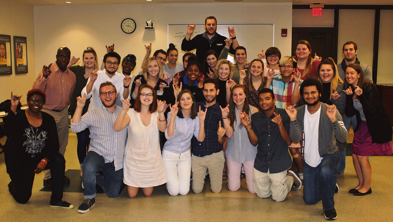 Student Government Association members