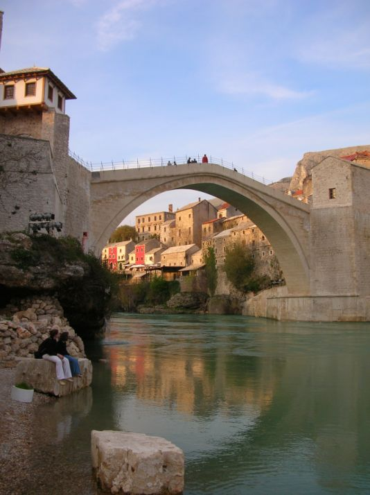 Croatia Bridge Mostar